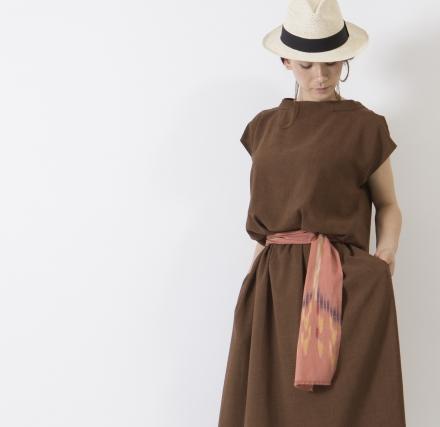 京都発の洋服ブランド・Siharuさんとコラボしました