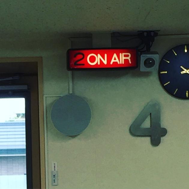 地元ラジオに出演しました