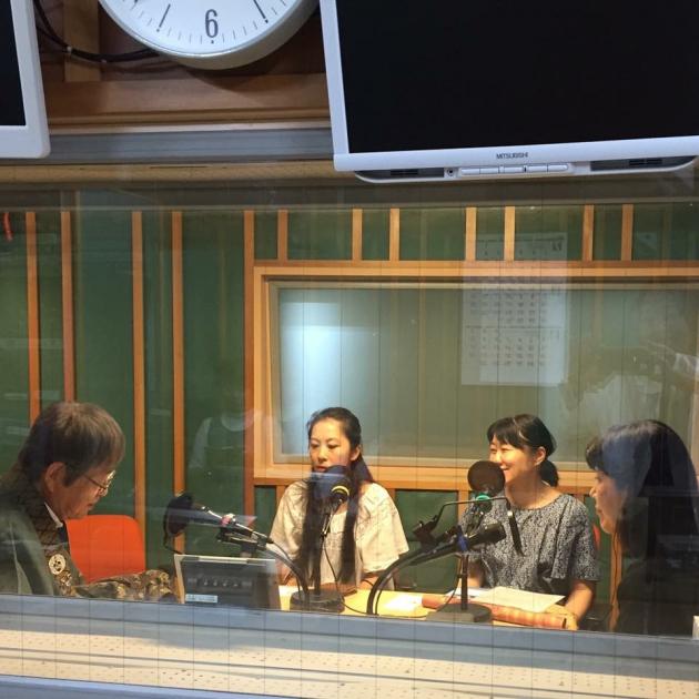 いとへんuniverse初ラジオ出演