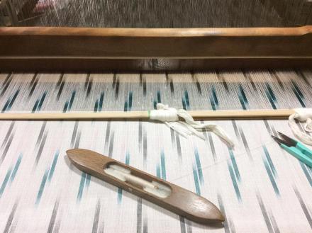 セミオーダーを織っています