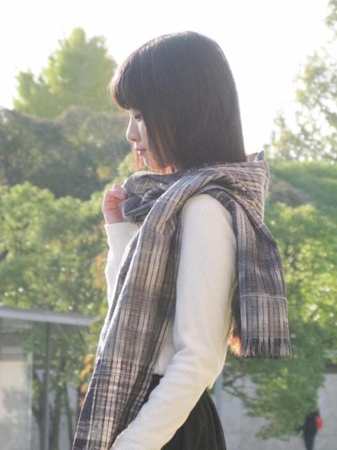 西陣絣オリジナルストール(手織り)