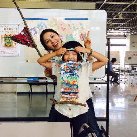 吹田市にて「かわいい裂き織 ワークショップ」開催