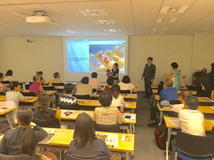 京のほんまもん講座に登壇しました