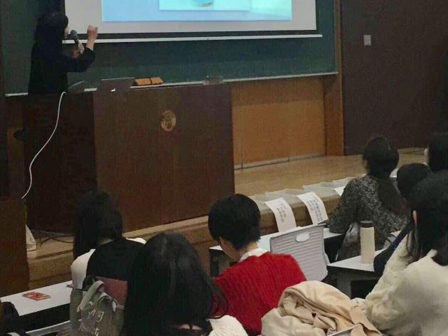 京都女子大学の授業でお話いたしました